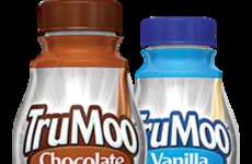 Deceptive Beverage Supplements - The TruMoo Protein Plus is a Great Alternative to Protein Powders