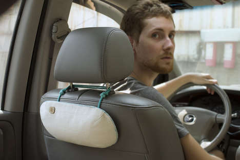 In-Car Air Purifiers - PURGGO Cleans Car Air with Purifying Bamboo Charcoal