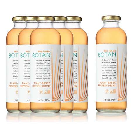 Plant-Based Protein Drinks - The Botain Protein Drink is a Delicious Vegetarian Alternative