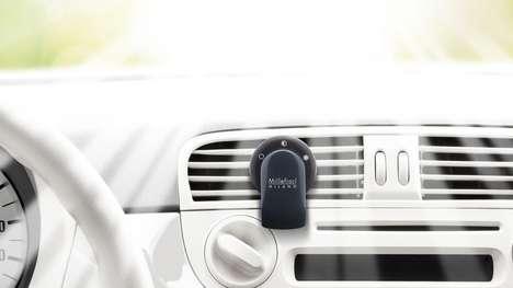 Compact Car Fresheners
