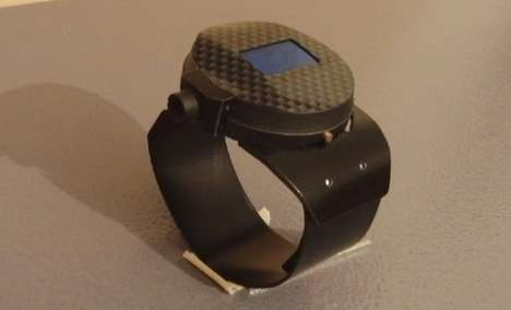 Laser-Emitting Watches