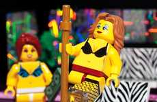 LEGO Strip Club Sets - Citizen Brick Creates Unofficial Set Called 'Center For The Performing Arts'