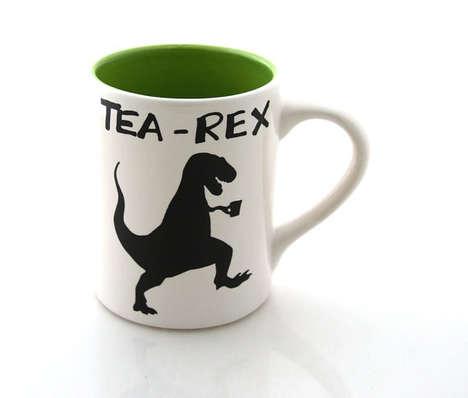 Tyrannosaurus Rex Teacups