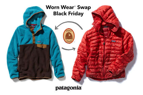 Worn Clothing Swaps - Patagonia is Giving Away Free Used Clothes on Black Friday So People Buy Less