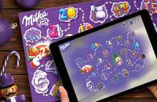 Augmented Christmas Countdowns - Milka's Christmas Calendar is Interactive