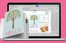 Greeting Card Inbox Extensions - The Gmail Plugin Dear Inbox Sends Emails as Physical Printed Cards