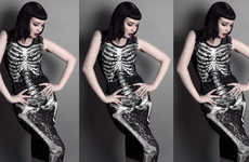 Skeletal Occult Apparel - The Killstar Fleur Du Mal Lookbook is Dramatically Daring