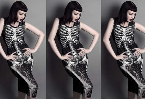 Skeletal Occult Apparel