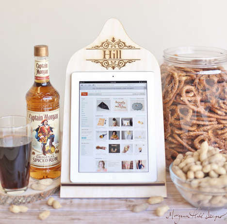 Kitchen Tablet Stands