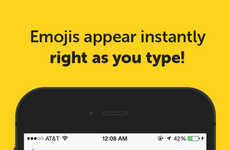 Emoji Translator Apps - Emojimo is a Emoji Keyboard App That Inserts Icons as You Type