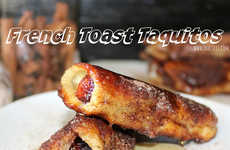 French Toast-Rolled Sausages