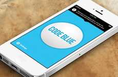 Depression Alerting Apps - Code Blue Offers Teenage Depression Support in the Form of a Panic Button