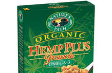Hemp Granola Cereals - Nature's Path Creates an Organic Breakfast Full of Protein and Fiber