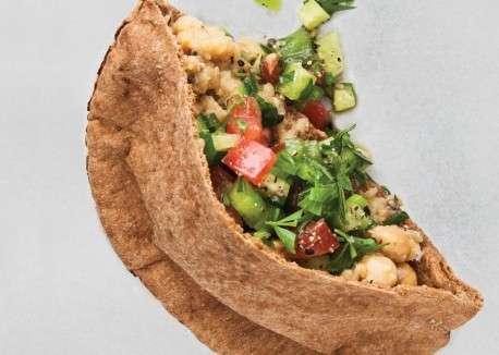 Hemp Hummus Pitas