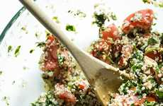 Hemp Seed Tabouli Dishes