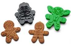 Sci-Fi Gingerbread Cookie Cutters