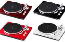 Versatile Turntables - The TEAC TN-300 Functions in Both Analog and Digital