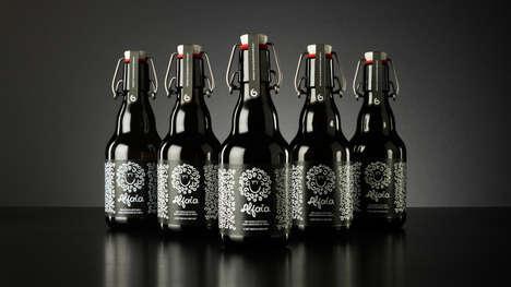 Upscale Beer Bottles