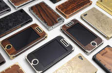 Artsy Smartphone Cases - The EXOvault Cases Have Sleek and Tasteful Designs