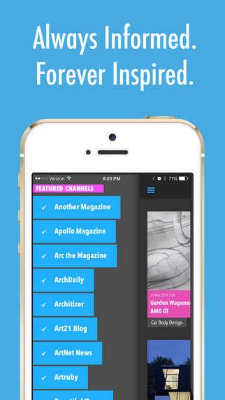 Inspiring Newsfeed Apps