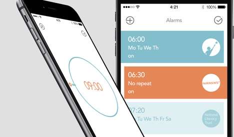 Charity Alarm Clocks - iCukoo by Chelsea Apps Factory Donates Money Every Time People Hit Snooze