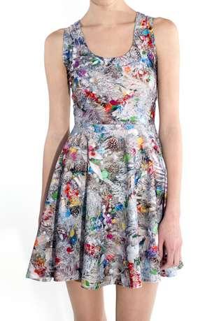 Tinsel Flare Dresses