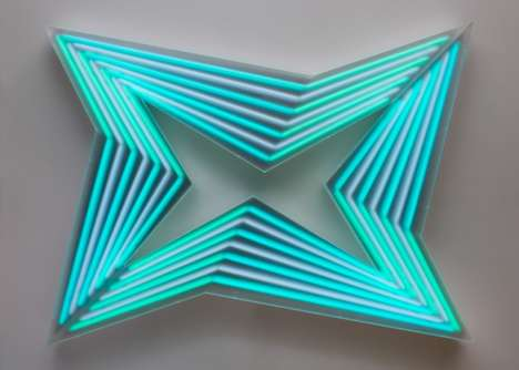 Geometric Neon Exhibits
