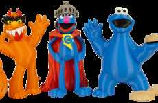 3D-Printed Monster Toys - Makerbot's Sesame Street 3D Printed Line Lets Fans Print Own Figurines