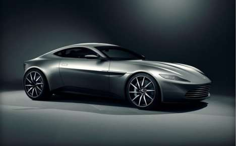 Luxe Spy-Worthy Vehicles - The Aston Martin DB10 is Built for Bond, James Bond