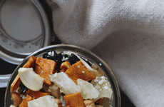 Tropical Trail Mix Combinations - This Snack Mix Recipe Incorporates Unexpected Ingredients