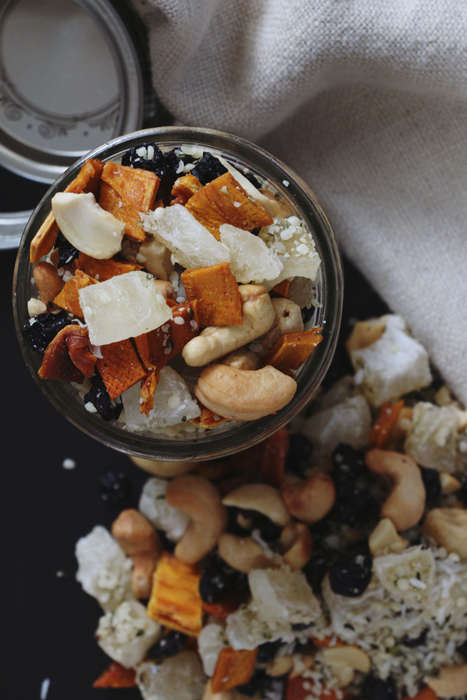Tropical Trail Mix Combinations