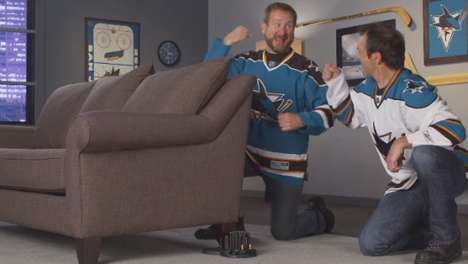 Couch-Rattling Hockey Gadgets