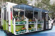 Mobile Bus Markets - FoodShare's Fresh Produce Programs Include a Travelling Market on Wheels