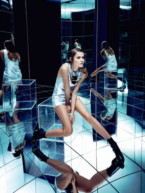 Modernly Mirrored Editorials