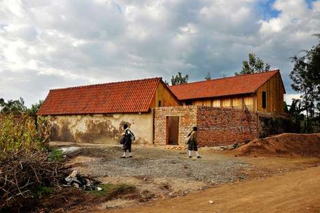 Rainwater-Harvesting Orphanages - St. Jerome's Orphanage in Kenya Was Built Using Recycled Materials