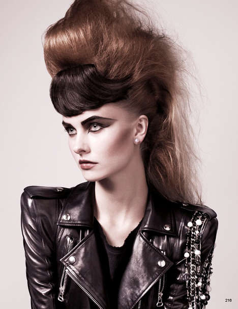 Feminized Male Makeovers Men With Fancy Hair