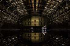 Flooded Art Exhibits - The Latest Douglas Gordon Installation Involves 150,000 Gallons of Water