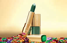 Emerald Designer Lipsticks - The 'Sicilian Jewels Collection' by D&G Puts Jewel Tones on Your Lips