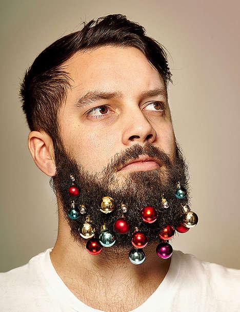 Festive Beard Baubles