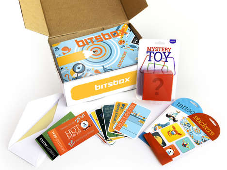 Kiddie Coding Kits - Bitsbox Teaches Kids Coding Through Monthly Subscriptions