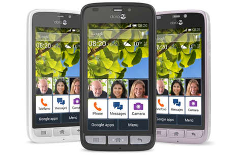 Intuitive Senior Smartphones