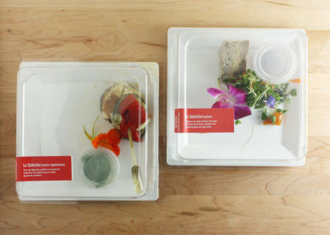 Gourmet Takeout Kits - Quebec's Château Laurier Hotel Offers 5 Course Meals on the Go