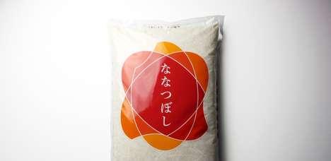 Modern Rice Packaging