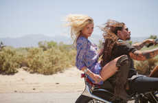 Hippie Roadtrip Lookbooks - The Spell Designs Lookbook Features Free Spirits and the Open Road