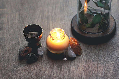 DIY Massage Candles
