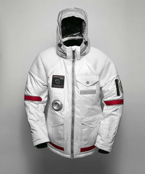 Stylish Spacesuit Jackets - The Look of This SPACELIFE Jacket is Out of This World