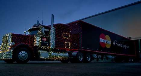 Heartwarming Holiday Campaigns - MasterCard Surprised Calgary Charities With Holiday Toy Donations