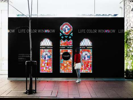 Digitized Stained Glass Windows