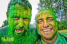 Sporty Slime Events - The 5K Slime Run Boasts Messy Obstacles and Zones