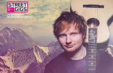 Interactive Concert Experiences - Ed Sheeran's InstaConcert Has Fans Make an Interactive Music Video